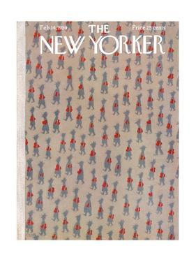 The New Yorker Cover - February 14, 1959 by Charles E. Martin