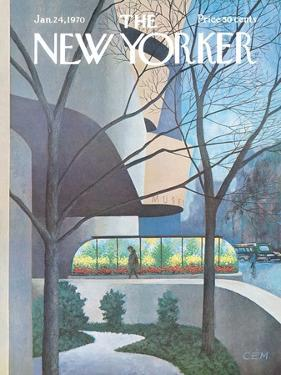 The New Yorker Cover - January 24, 1970 by Charles E. Martin