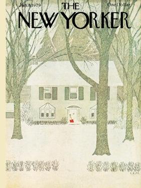 The New Yorker Cover - January 8, 1979 by Charles E. Martin