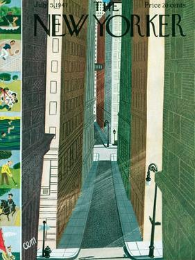 The New Yorker Cover - July 5, 1947 by Charles E. Martin
