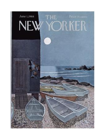 The New Yorker Cover - June 1, 1968 by Charles E. Martin