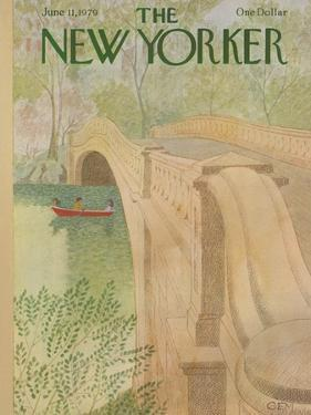The New Yorker Cover - June 11, 1979 by Charles E. Martin
