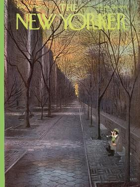 The New Yorker Cover - March 13, 1965 by Charles E. Martin