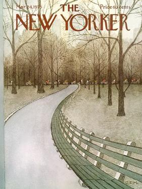 The New Yorker Cover - March 24, 1975 by Charles E. Martin