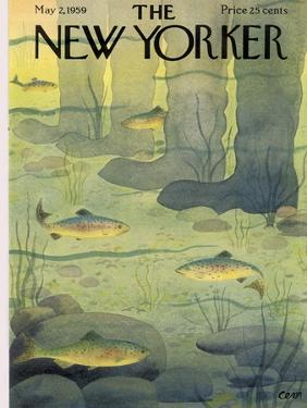 The New Yorker Cover - May 2, 1959 by Charles E. Martin