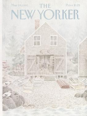 The New Yorker Cover - May 24, 1982 by Charles E. Martin