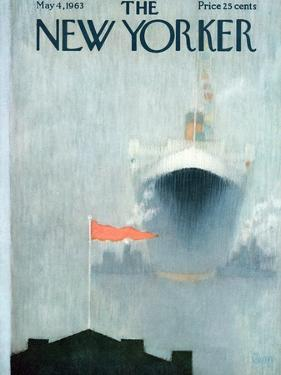 The New Yorker Cover - May 4, 1963 by Charles E. Martin