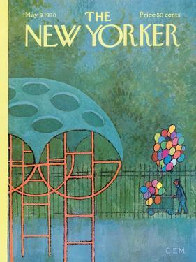 The New Yorker Cover - May 9, 1970 by Charles E. Martin