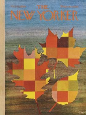 The New Yorker Cover - October 11, 1969 by Charles E. Martin