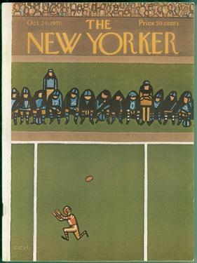 The New Yorker Cover - October 24, 1970 by Charles E. Martin