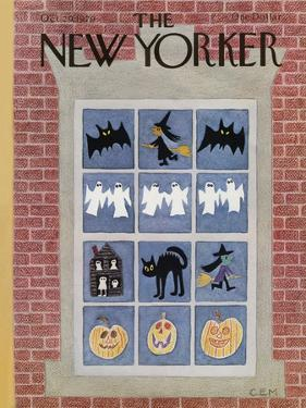 The New Yorker Cover - October 29, 1979 by Charles E. Martin