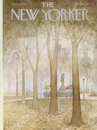 The New Yorker Cover - October 3, 1977