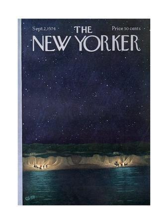The New Yorker Cover - September 2, 1974