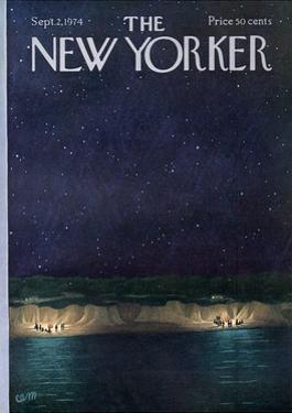 The New Yorker Cover - September 2, 1974 by Charles E. Martin