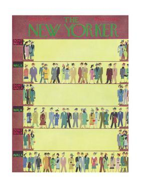 The New Yorker Cover - September 22, 1956 by Charles E. Martin