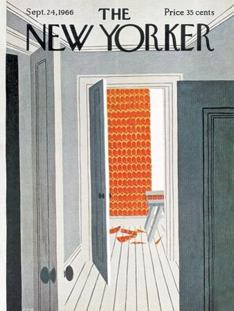 The New Yorker Cover - September 24, 1966 by Charles E. Martin