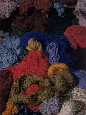 Bundles of Yarn by Textile Designer Dorothy Liebes by Charles E. Steinheimer