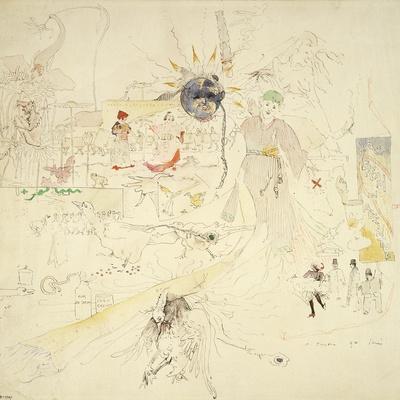 A Dream in Absinthe, 1890
