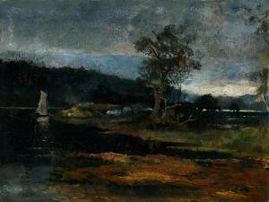 Low Tide, Hawkesbury River, 1887 by Charles Edward Conder