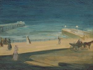 On the Pier, Brighton by Charles Edward Conder