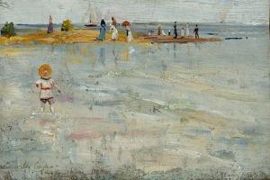 Ricketts Point, Beaumarais, 1890 by Charles Edward Conder