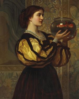 The Goldfish Bowl by Charles Edward Perugini