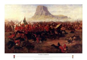 The Battle of Isandhlwana, 1879 by Charles Edwin Fripp