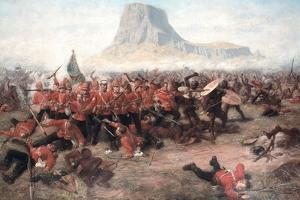 The Battle of Isandlwana: the Last Stand of the 24th Regiment of Foot (South Welsh Borderers)… by Charles Edwin Fripp