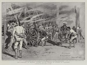 The Fighting in Manila, United States Troops in Action at Calumpit by Charles Edwin Fripp