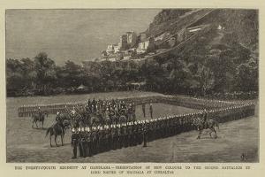 The Twenty-Fourth Regiment at Isandlana by Charles Edwin Fripp
