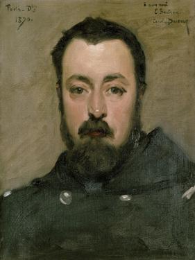 Portrait of M. Berthon, 1870 by Charles Emile Auguste Carolus-Duran