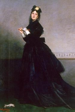 The Woman with the Glove, 1869 by Charles Emile Auguste Carolus-Duran