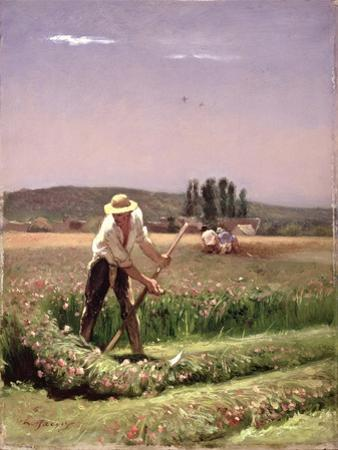 A Peasant, Mowing