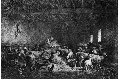 La Bergerie, (The Shepher), 1825-1890