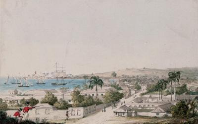 A View of Carlisle Bay and Bridgetown, Barbados
