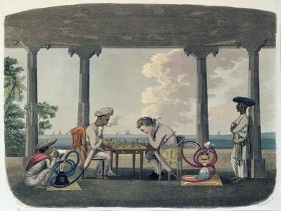 The Chess Match, Engraved by T. Rickards, 1804