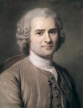 Jean Jacques Rousseau, 1874 by Charles Escot