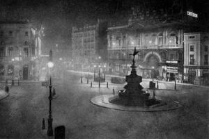 Piccadilly Circus, London, at Night, 1908-1909 by Charles F Borup