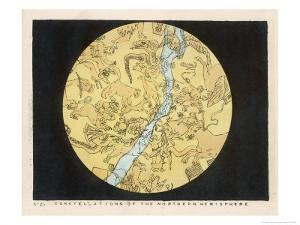 Constellations of the Northern Hemisphere by Charles F. Bunt
