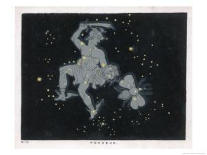 Line Passing Through the Three Great Stars of Andromeda by Charles F. Bunt