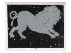The Constellation of Leo the Lion by Charles F. Bunt