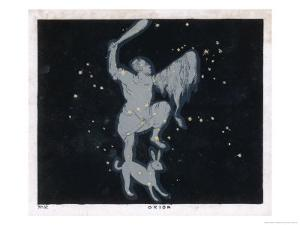 The Constellation of Orion One of the Most Brilliant in the Heavens by Charles F. Bunt