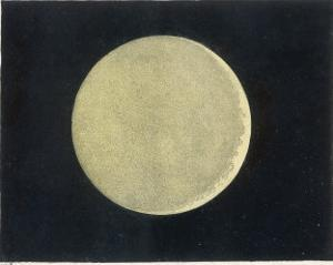 The Crescent Moon, a Close Up by Charles F. Bunt