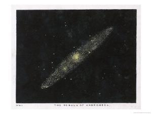 The Nebula of the Constellation Andromeda by Charles F. Bunt