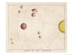 The Origin of Asteroids by Charles F. Bunt