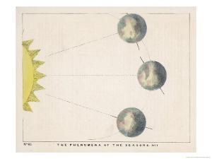 The Phenomena of the Seasons, Number One by Charles F. Bunt