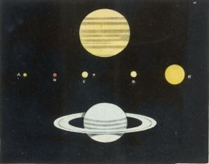 The Relative Sizes of the Planets by Charles F. Bunt