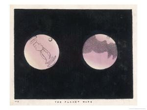 Two Views of Mars by Charles F. Bunt