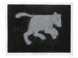 Ursa Major: The Constellation is Composed at First Sight of Seven Conspicuous Stars by Charles F. Bunt
