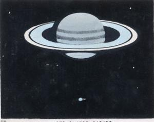 View of Saturn by Charles F. Bunt